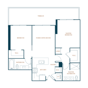 B1 PH Floor Plan